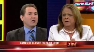 Batalla campal entre Damas de Blanco y UNPACU en el Show de Maria Elvira.mp4_snapshot_13.04_[2014.09.10_12.13.52]