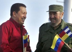 Chávez y Fidel. Foto: Ismael Francisco/Cubadebate.
